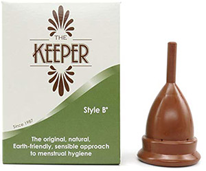The Keeper Menstrual Cup A Firmer Menstrual Cup