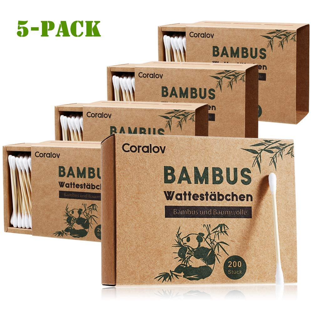 Bamboo Cotton Swab