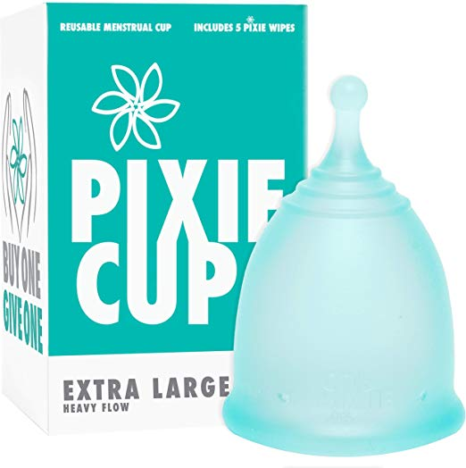 extra large menstrual cup heavy flow